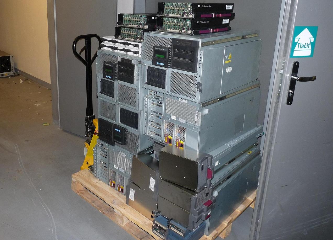 Výkup-Vysočany, Elektroodpad - výkup, odvoz a likvidace serverů